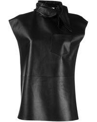 Givenchy Neckerchief Effect Sleeveless Top - ブラック