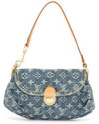 Louis Vuitton Мини-сумка Pleaty 2006-го Года - Синий