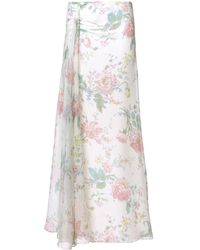 Ralph Lauren Collection フローラル ロングスカート - マルチカラー