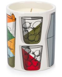 Fornasetti Profumi Cocktail Scented Candle - White