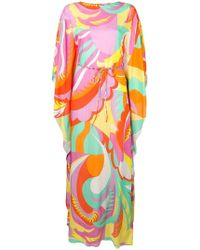 Emilio Pucci - Acapulco Print Kaftan Dress - Lyst