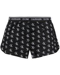Calvin Klein Lounge-Shorts - Schwarz