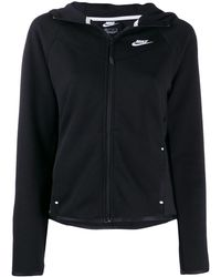 Nike ジップアップ パーカー - ブラック