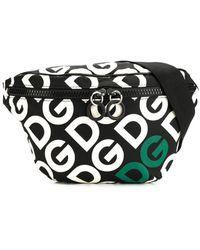 Dolce & Gabbana - Поясная Сумка С Логотипом - Lyst