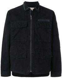 Zadig & Voltaire - Studded Lightweight Jacket - Lyst