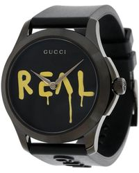 Gucci Часы 'ghost G-timeless' - Черный