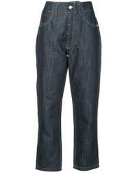 Sofie D'Hoore - Raw Straight Leg Jeans - Lyst