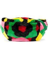 Kirin Abstract-print Belt Bag - Pink