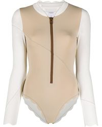Marysia Swim North Sea Rashguard - Natural