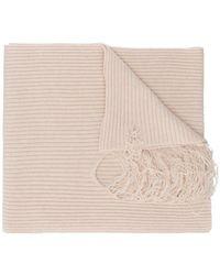 Maison Margiela - Laddered Rib Knit Scarf - Lyst