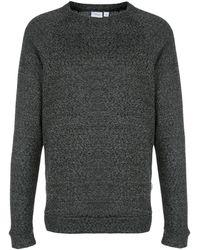 Onia Dave Raglan Speckle スウェットシャツ - ブラック
