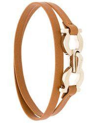 Ferragamo   Double Gancio Bracelet   Lyst