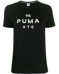PUMA ロゴ Tシャツ - ブラック