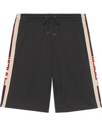 Gucci - Technical Jersey Shorts - Lyst