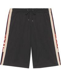 Gucci 'Technical' Shorts - Schwarz