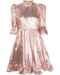 BATSHEVA - メタリック ドレス - Lyst