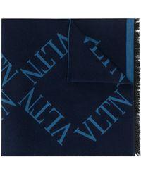 Valentino Écharpe VLTN - Bleu