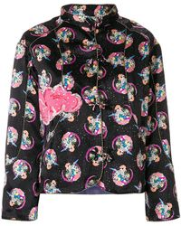 Tsumori Chisato - Cosmo Girl Print Fitted Jacket - Lyst