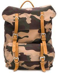 Eleventy Camouflage-print Backpack - Multicolor