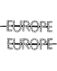 Ashley Williams Europe Hair Clips - Black