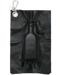 Loewe Брелок В Форме Фляги - Черный