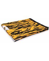 Dickies Construct Zebra-print Logo Towel - Yellow