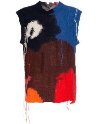 Alexander McQueen Mouwloos Vest - Blauw
