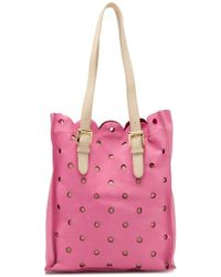 Boutique Moschino Perforated Tote Bag