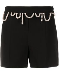 Boutique Moschino - Gerade Shorts - Lyst