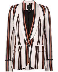 Smythe - Striped Blazer - Lyst