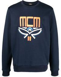 MCM Geo Laurel スウェットシャツ - ブルー