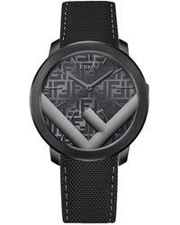 Fendi Наручные Часы Run Away - Черный