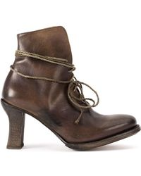 Cherevichkiotvichki - Elongated Fastening Boots - Lyst