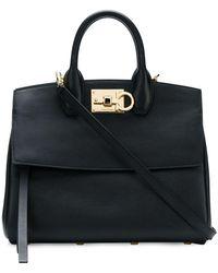 Ferragamo Studio Handbag - Zwart