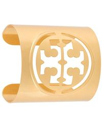 Tory Burch Cut-out Cuff Bracelet - Multicolour