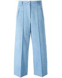 Barbara Bui - Wide-legged Cropped Jeans - Lyst