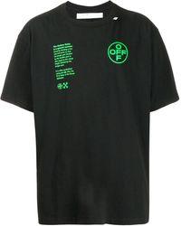 Off-White c/o Virgil Abloh - アーチシェイプ Tシャツ - Lyst