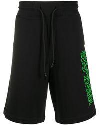 Versace Jeans Couture Шорты С Логотипом - Черный