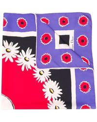 Dior Pañuelo con estampado floral 1990 - Multicolor