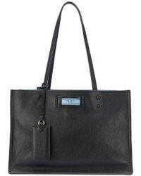 Prada - Etiquette Tote Bag - Lyst