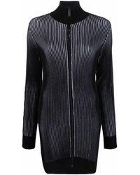 Heron Preston ストライプ ドレス - ブラック
