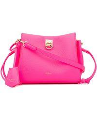 Mulberry Мини-сумка Через Плечо Iris - Розовый