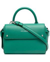 Karl Lagerfeld Маленькая Сумка-тоут K/ikon - Зеленый
