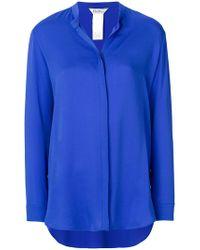 Max Mara - Collarless Design Shirt - Lyst