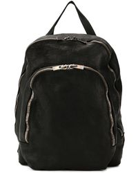 Guidi Soft Full Grain Backpack - Black
