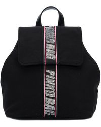 Pinko - Embellished Brand Backpack - Lyst
