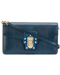 Dolce & Gabbana Lucia shoulder bag - Blu