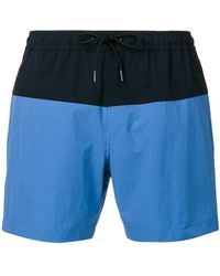 Theory - Cosmos Swim Shorts - Lyst