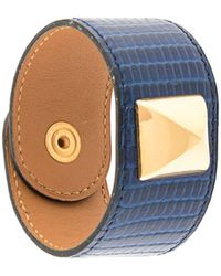 Hermès Bracelet manchette Medoru - Bleu