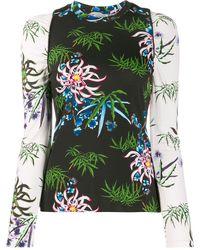 KENZO Floral Print Top - Black